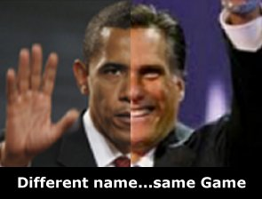 romney and obama the same