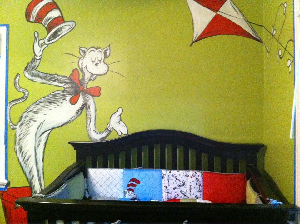 Dorable Cat In The Hat Wall Art Embellishment - Wall Art Collections ...