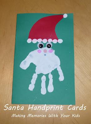 Handprint Birthday Card Ideas