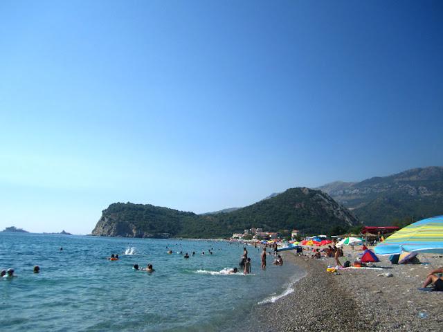 Buljarica beach, Montenegro