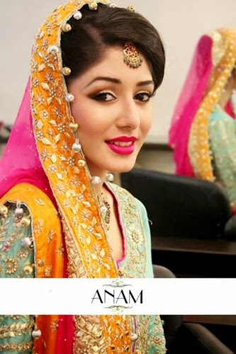 PakistaniBridalMakeupPictures2014 0014 wwwshe stylesblogspotcom - Bridal Makeup Pictures 2014 by Anam.