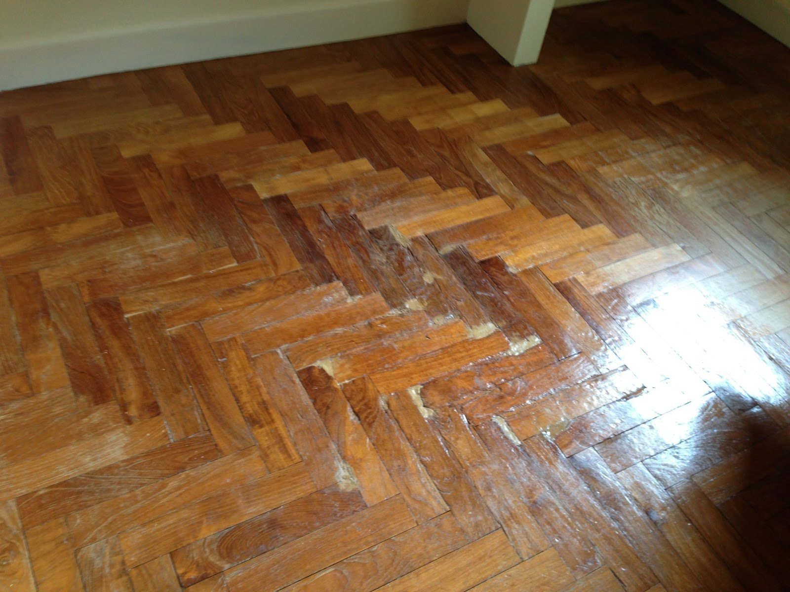 How to varnish parquet 16