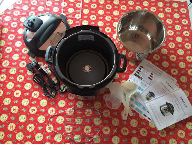 Feisty Tapas Advent Calendar Facebook Group giveaway Day 9: Win an Instant Pot DUO 7 in 1