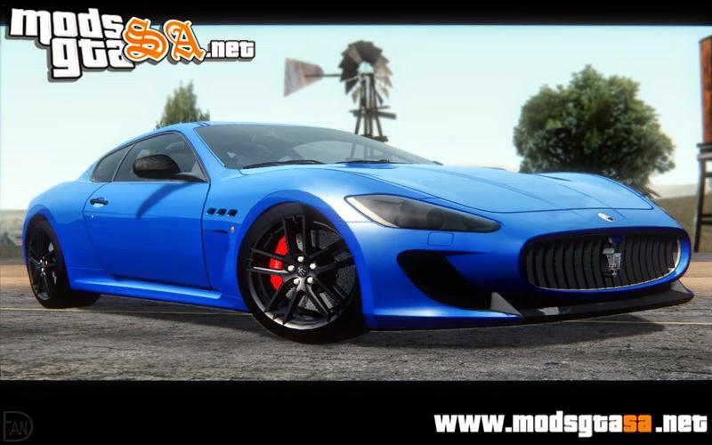 SA - Maserati GranTurismo MC Stradale