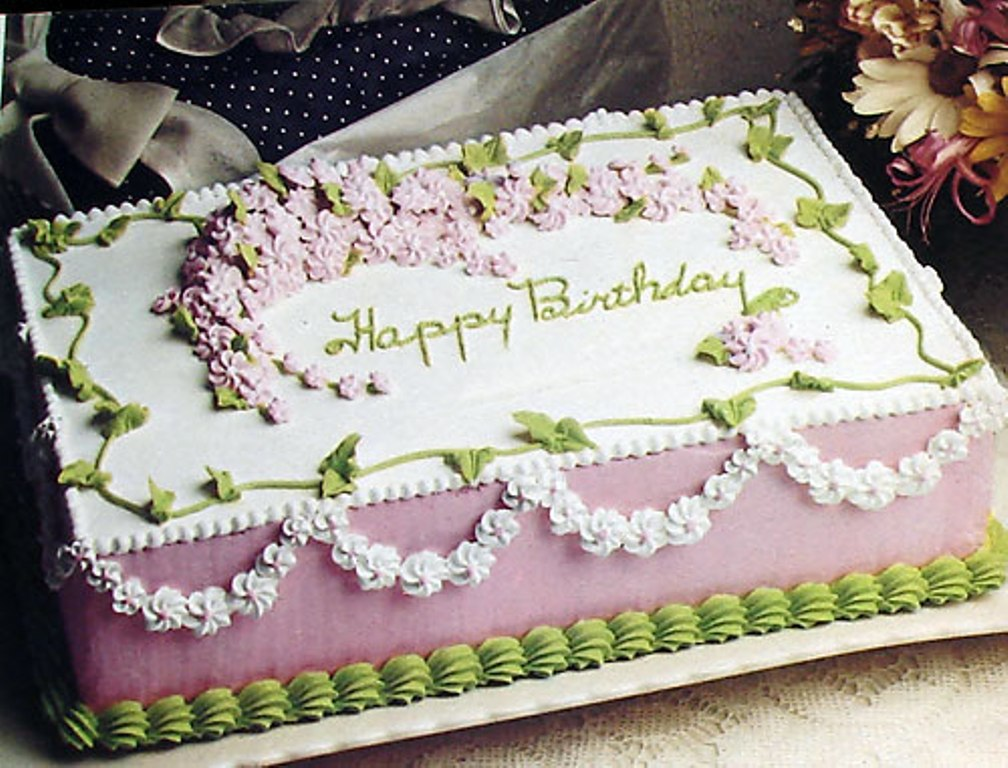 birthday cakes recipes with pictures