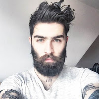 'cause we're scared to be lonely — tramas  Chris-john-millington-tattooed-bearded-02
