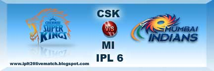 IPL Match 5 CSK vs MI Live Score and Highlight