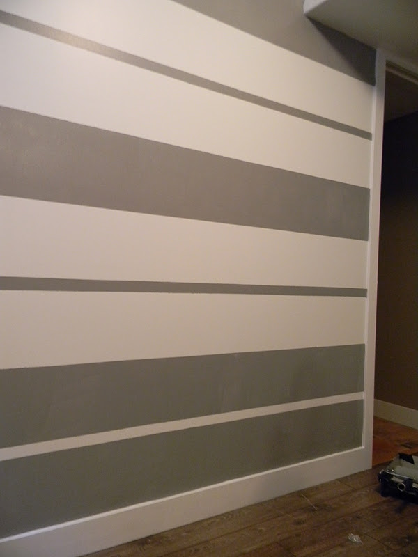 The Design Pages How to Create a Striped Wall