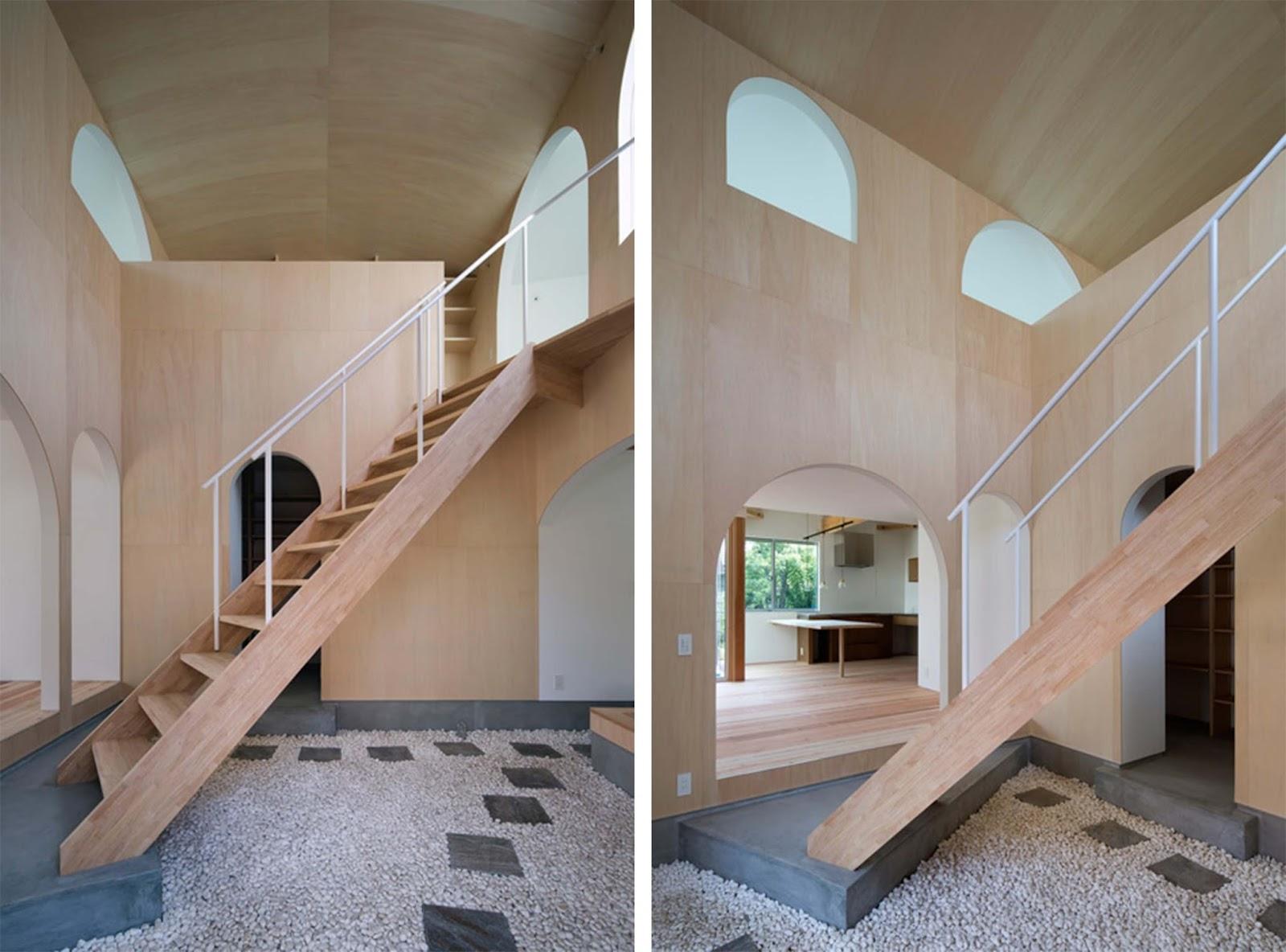 Ampliamento di una casa con cortile a kudamatsu in giappone by container design arc art blog - Ampliare casa con struttura in legno ...