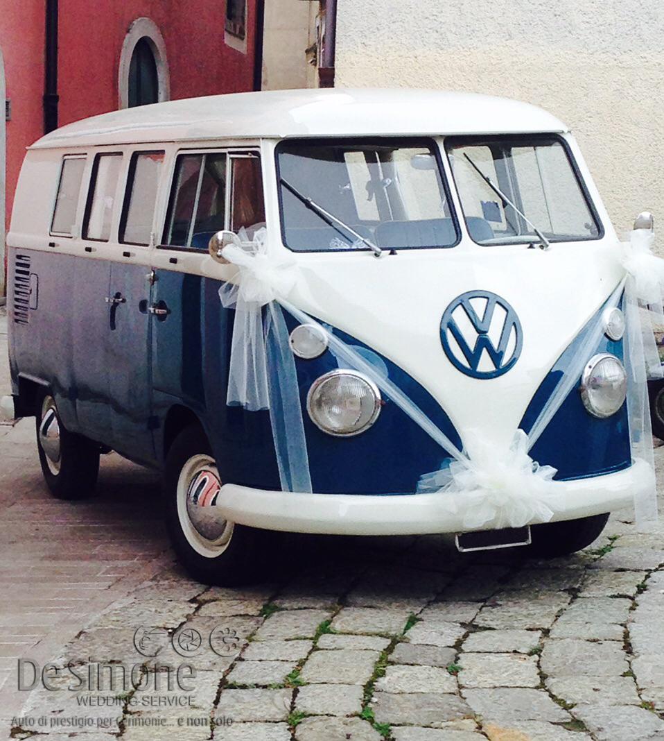 De simone wedding service auto di prestigio per cerimonie for Furgone anni 70 volkswagen