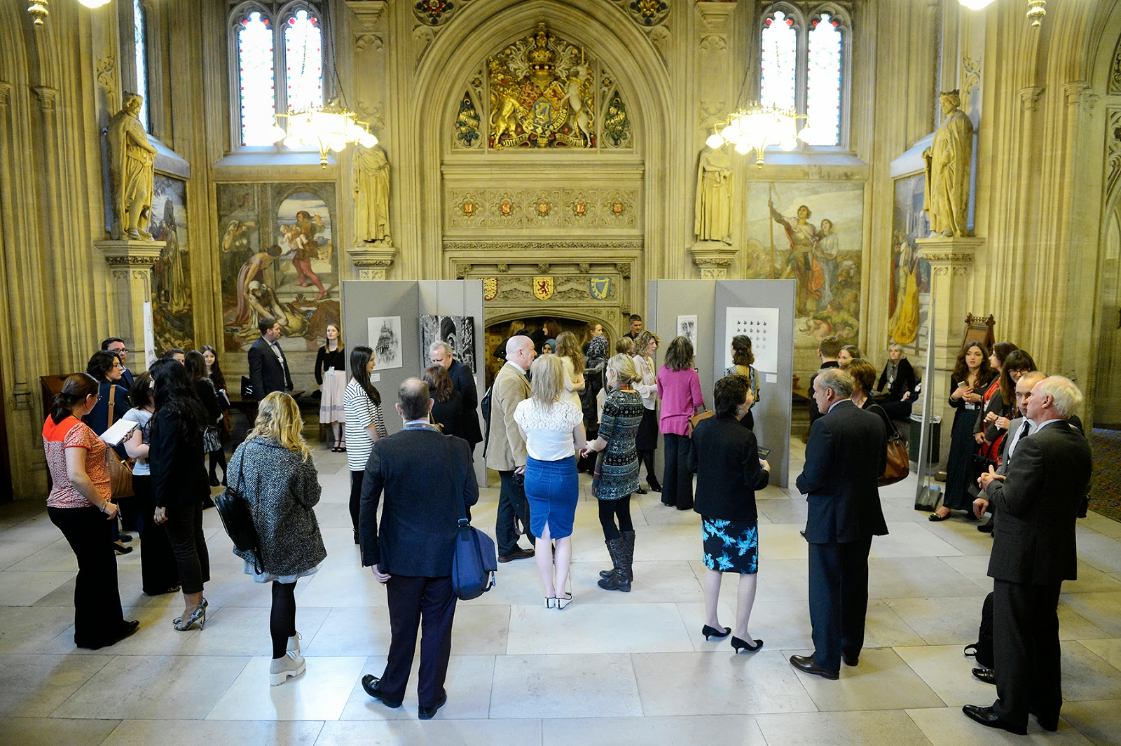House Of Commons Foyer : Arthive aoc sixth form colleges fine art exhibition