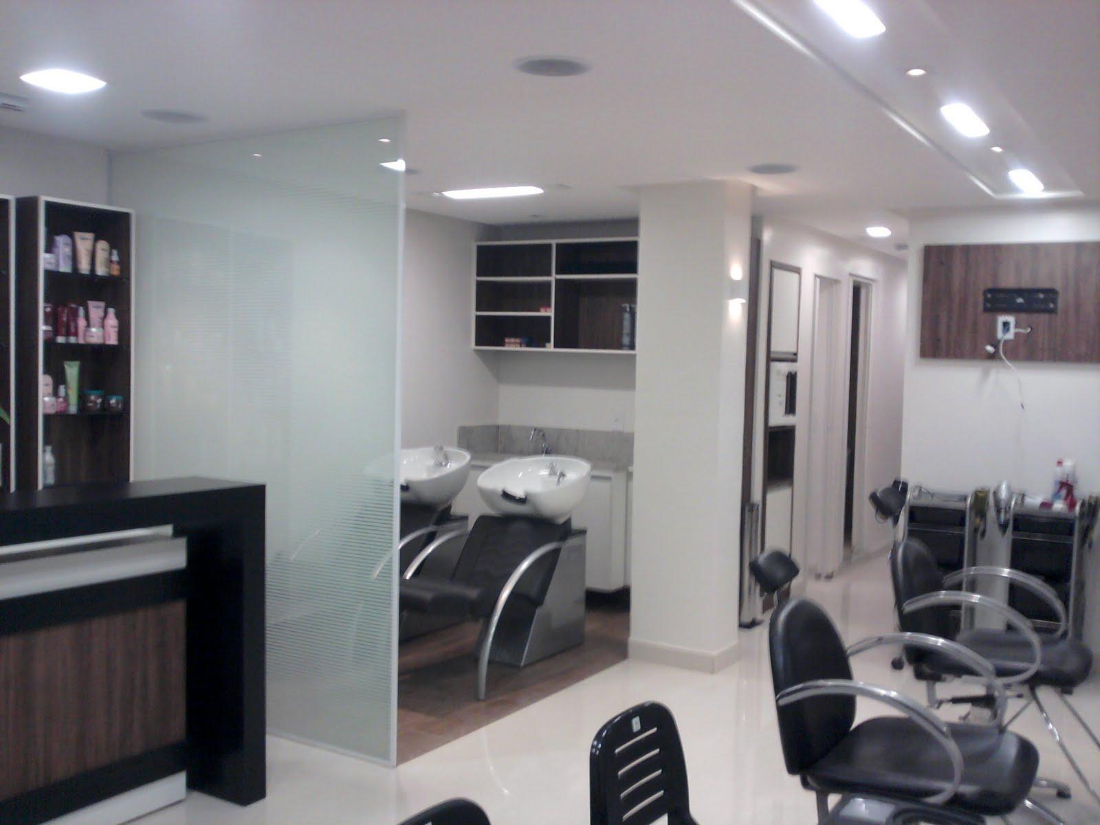 #5B4A4D MARCOS DOURADO Arquitetura & Interiores: Salão N Hair Núcleo  1600x1200 píxeis em Arquitetura De Interiores Faculdade