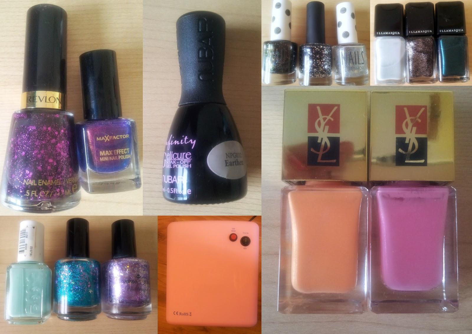 Beauty and the Blogger: Nail Blog Sale - Illamasqua, YSL, Essie ...