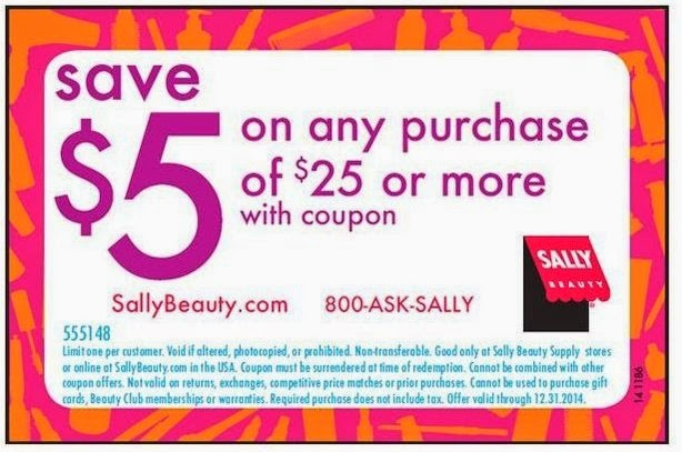 Sally Beauty $5 coupon