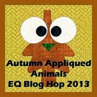 Autumn Appliqued Blog Hop