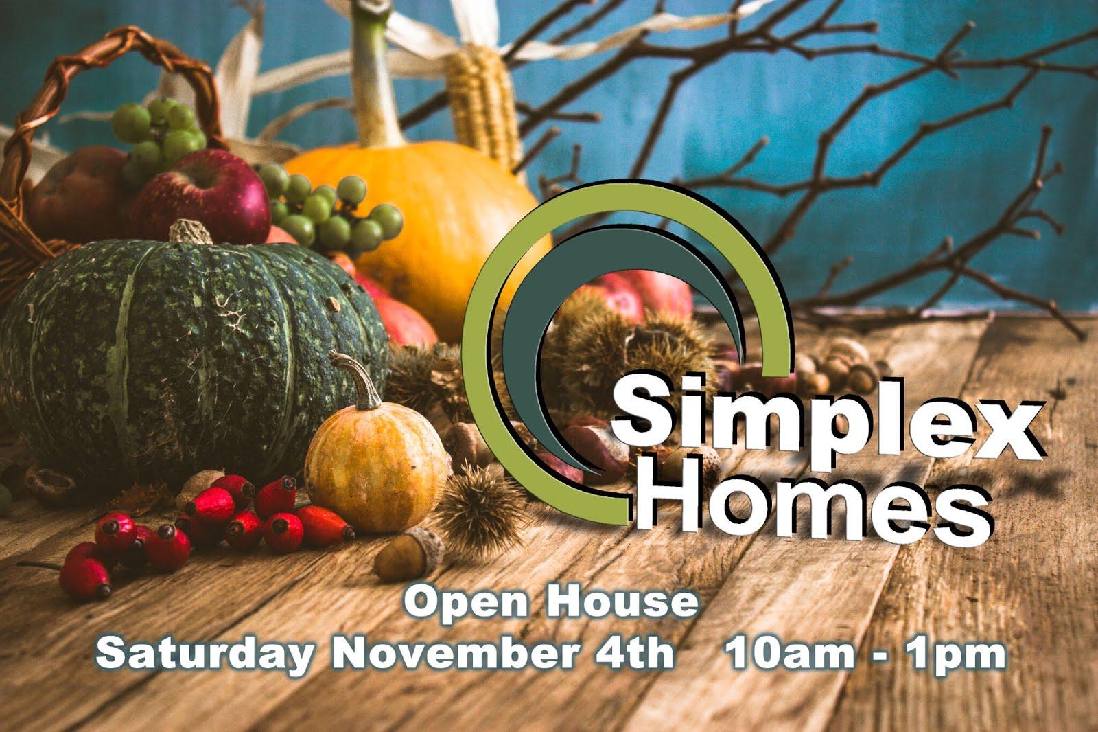 Simplex November Open House