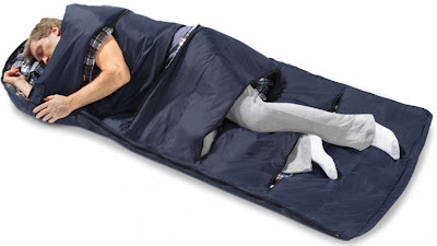 Zippered Vents Sleeping Bag