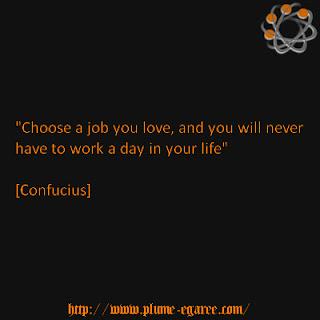 citation travail confucius