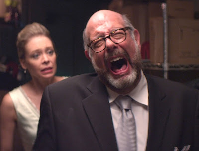 Fred Melamed, and Alexandra Holden in In A World...