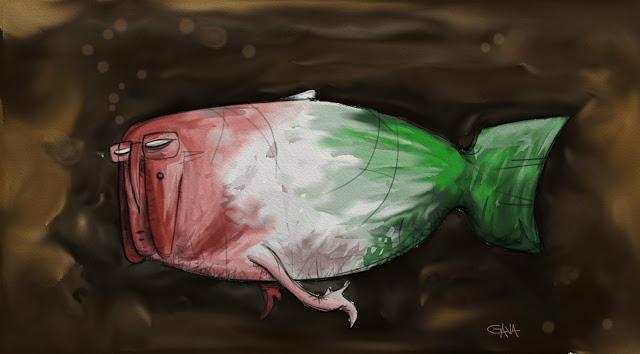 gavavenezia gava satira vignette illustrazioni ridere piangere pensare caricature fumetti  napolitano pesce d'aprile italia saggi tecnici grillo casaleggio bersani berlusconi merda bolle occhiali