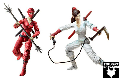 First Look: San Diego Comic-Con 2012 Exclusive Jinx G.I. Joe: Retaliation Movie Action Figures - Standard Red Edition &amp; Variant White Edition