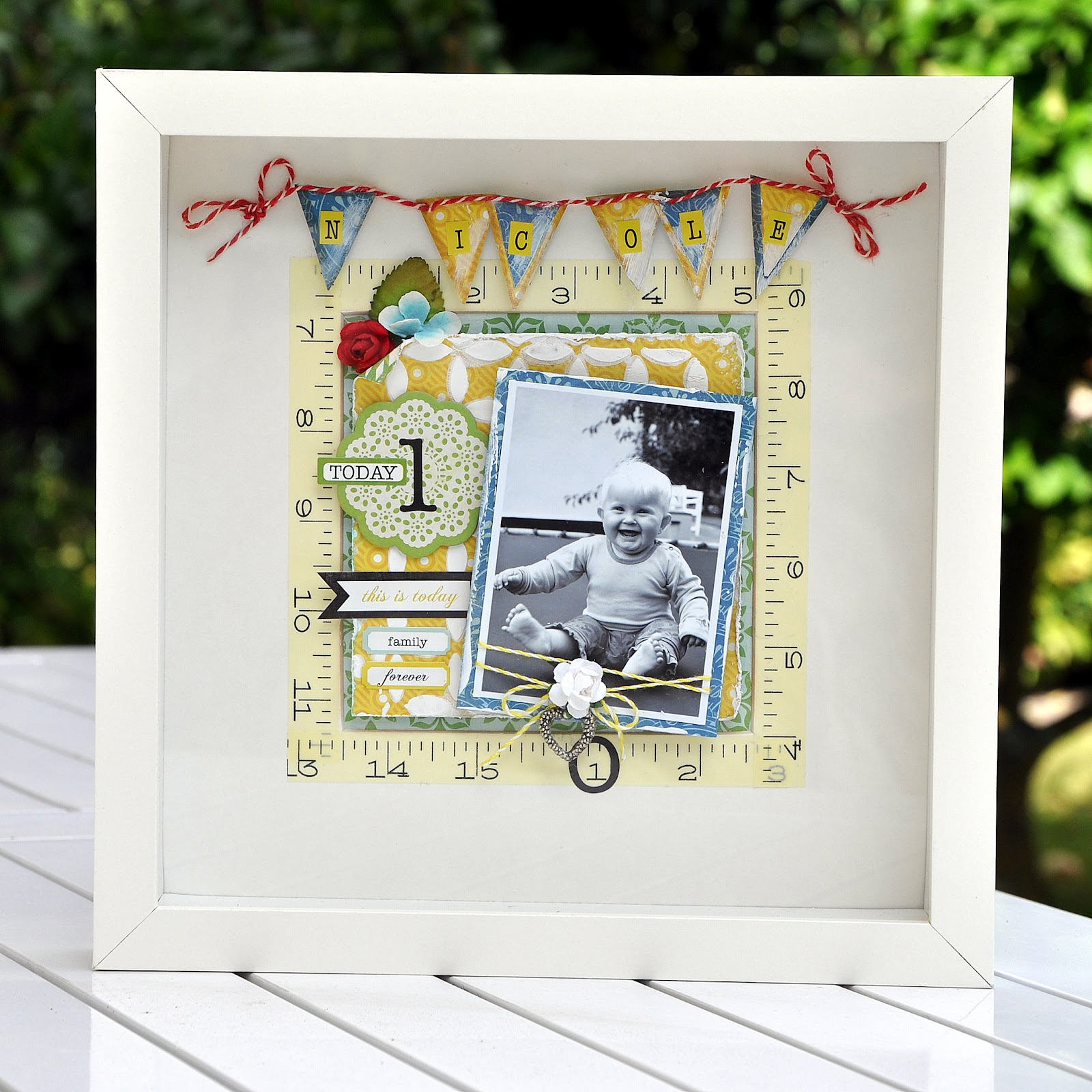Paper and Glue Heaven: Step-by-step tutorial for a deep frame using ...