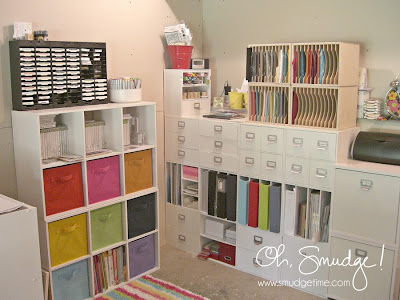 crafty storage melissa from oh smudge craft room. Black Bedroom Furniture Sets. Home Design Ideas