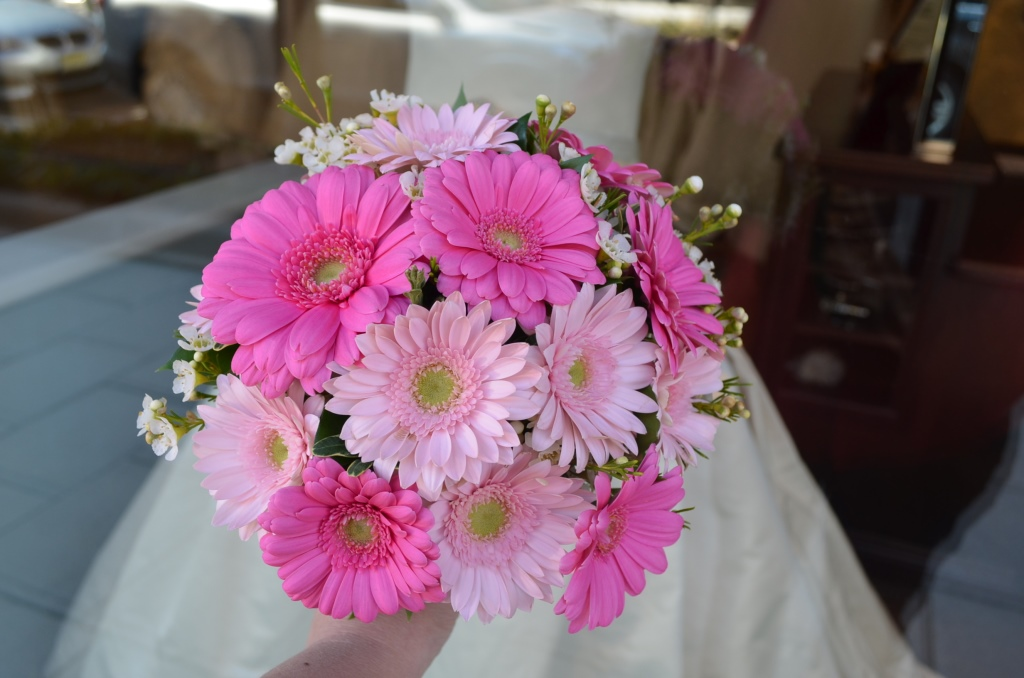 Wedding Bouquet Of Gerbera Daisies : Gerbera daisy wedding bouquets