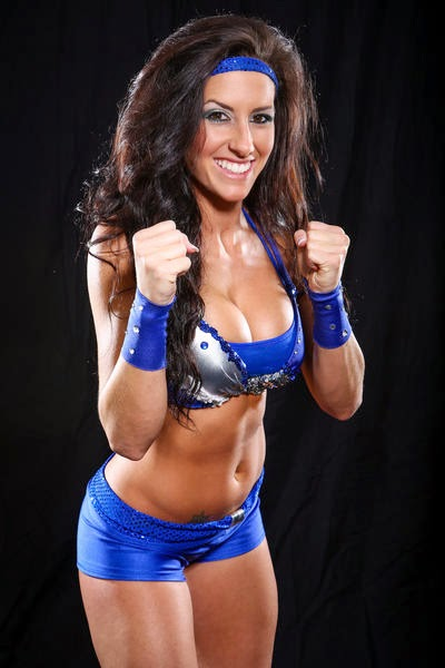"Santana Garrett debuted on TNA Impact Wrestling as ""Brittany"""