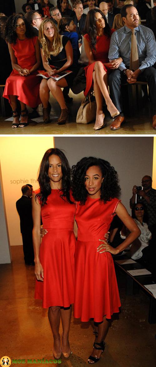 Corrine Bailey Rae e Veronica Webb