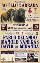 Manolo Vanegas, anunciado en Sotillo de la Adrada, el 31/05.