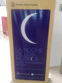 MALBA museum Buenos Aires - noche de los museos