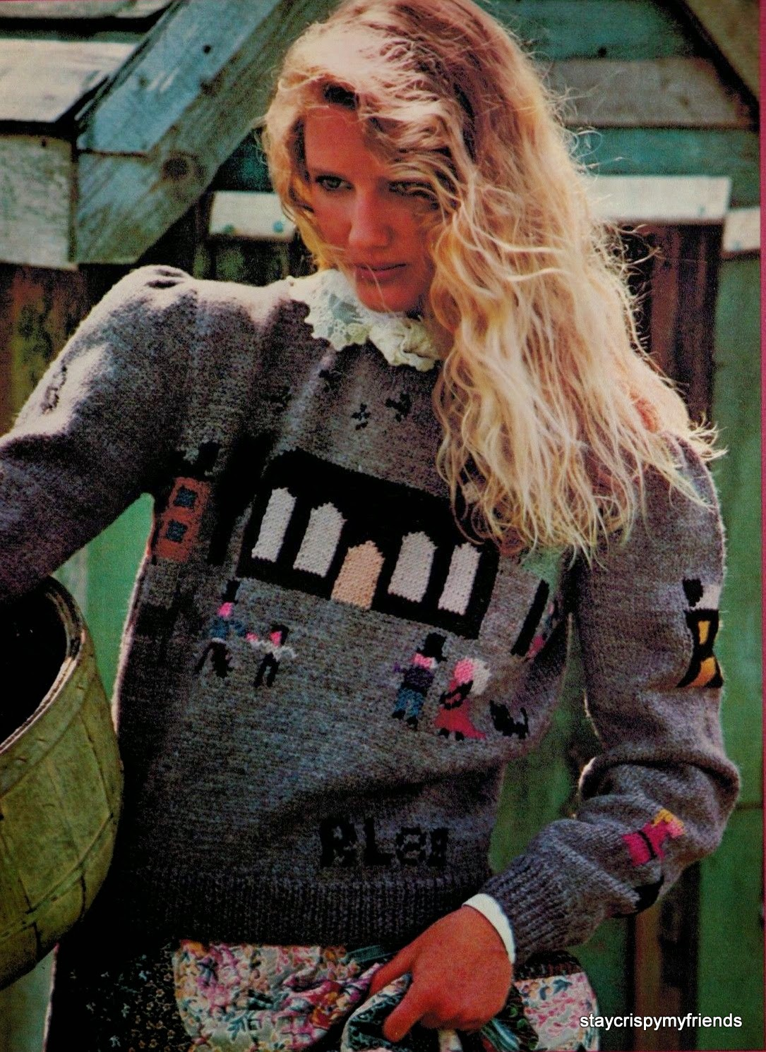 Ralph Lauren sweater 1982