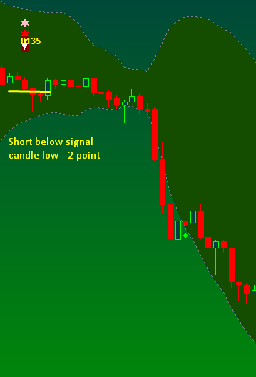 Short only trading system