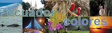 Revista de Turismo Ecuador a colores,