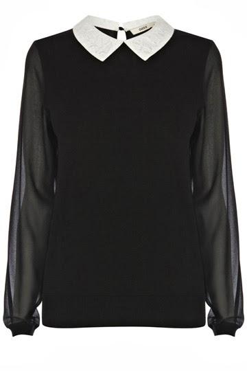 lace collar jumper