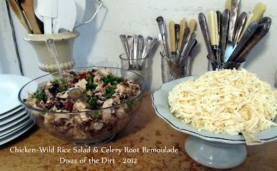 Divasofthedirt,chicken rice & Remoulade