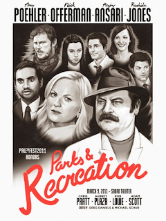 Parks and Rec 550x733 Download Parks and Recreation 7x03 04 S07E03 04 RMVB Legendado