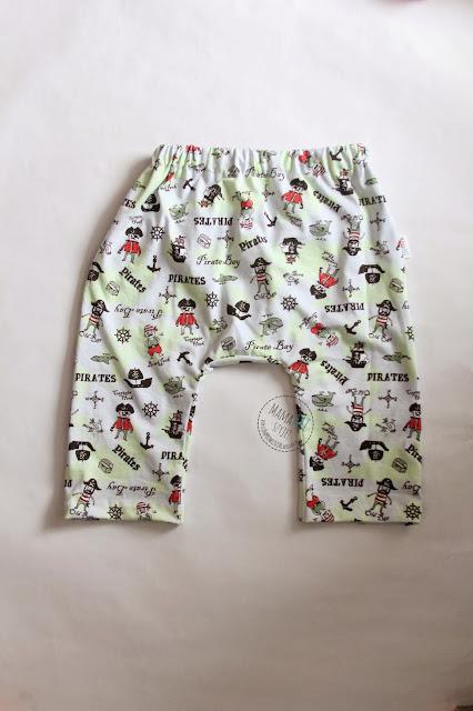 pumpy, piżama chłopięca, dzianinowa piżama