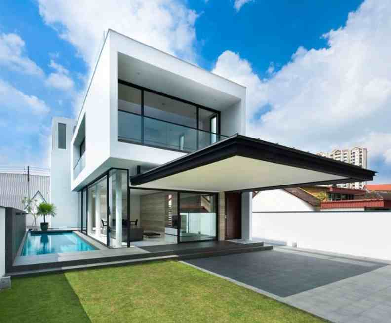 Model Desain Rumah Minimalis Sederhana Modern