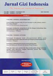 Jurnal Gizi Indonesia