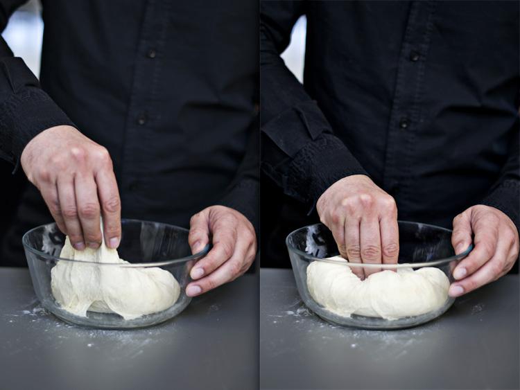 amasar Tsoureki   Τσουρέκι [Pan dulce griego de pascua]