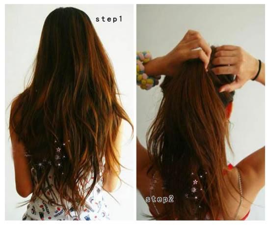 Rambut ala Korea yang Cantik dan Cara Mengikat Rambut Cute - Cara