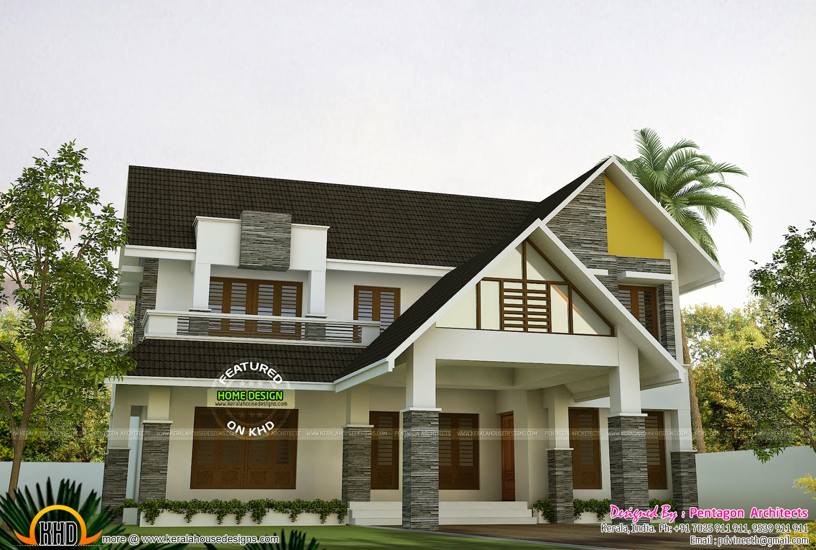 1188 square feet mixed roof house keralahousedesigns