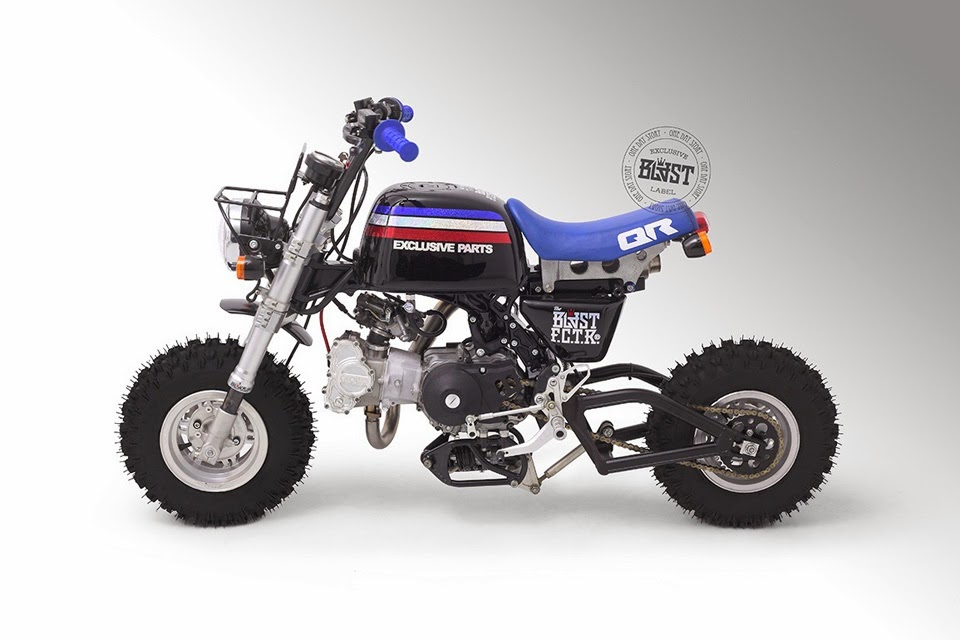 Racing Caf U00e8  Honda Gorilla By Blast Factory