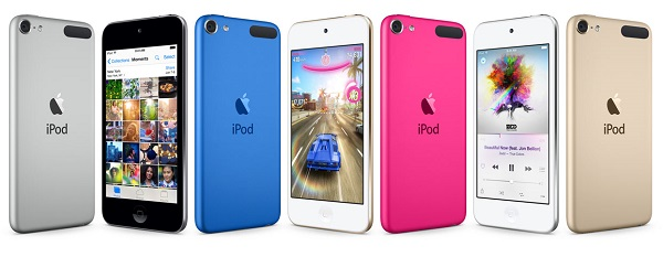 Apple launches new iPod touch with A8 Chip, 8 megapixel iSight camera & Apple Music