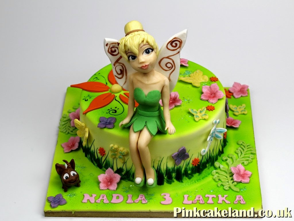 Tinker Bell Birthday Cakes in London