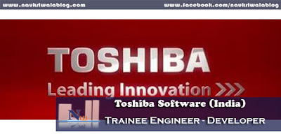 Trainee Engineer - Developer Job 2015