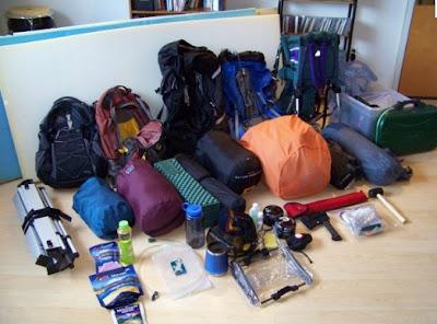 Que debo llevar a un camping - Lista de articulos para acampar