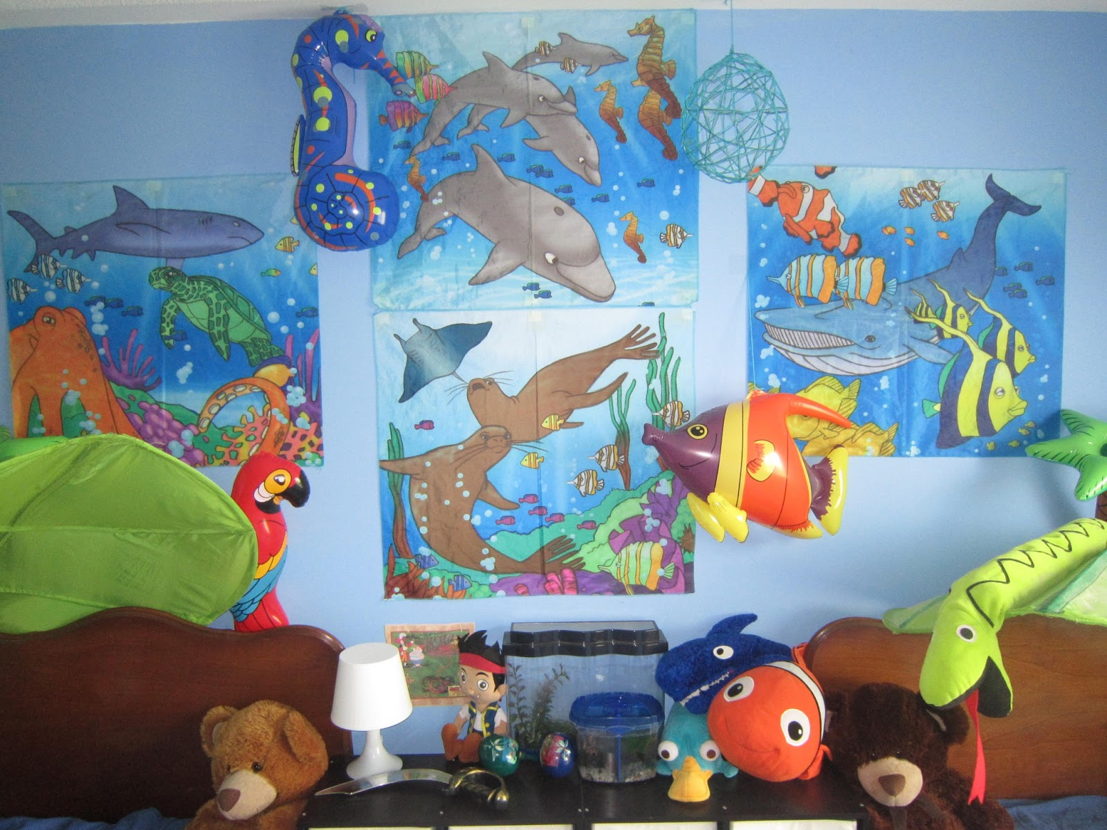 little townhome love Under the Sea bedroom update